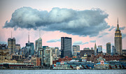 New York City Skyline Art - The Cloud by JC Findley