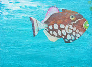 Trigger Fish Prints - The Clown Print by Kristen Ashton