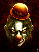 Clown Hat Prints - The Clown Print by Tony Christou
