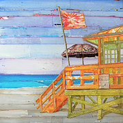 Shack Mixed Media - The Coast is Clear by Danny Phillips