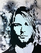 Wade Edwards Posters - The Cobain Poster by Wade Edwards
