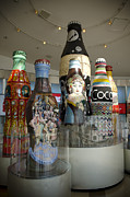 Bottle Cap Photo Posters - The Coca-Cola Sculptures Poster by Jessica Berlin