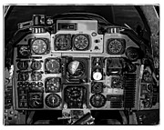 Controls Framed Prints - The Cockpit Framed Print by Unknown