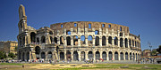 Colliseum Framed Prints - The Colloseum Framed Print by Claudio Bacinello