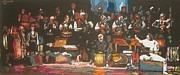 Concert Pastels Originals - The Concert by Ramaz Razmadze