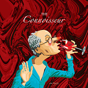 Connoisseur Posters - The Connoisseur Poster by Johnny Trippick