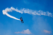 Stearman Photos - The Contrail by David Patterson