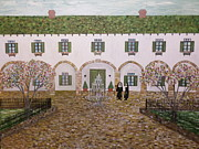 Flower Boxes Paintings - The Convent by Joe McClellan