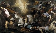 Famous Artists - The conversion of Paul by Palma il Giovane