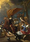 Famous Artists - The Conversion of Saint Paul by Karel Dujardin