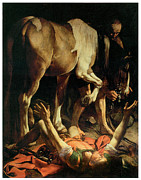 Conversion Paintings - The Conversion of St. Paul by Caravaggio