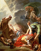 Famous Artists - The Conversion of St Paul by Nicolas Bernard Lepicie