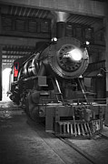 Steam Engine Prints - The Cool Down Print by Mike McGlothlen