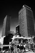 Cosmopolitan Metal Prints - the cosmopolitan luxury resort casino and hotel Las Vegas Nevada USA Metal Print by Joe Fox