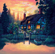 The Cottage Print by MGL Studio - Chris Hiett