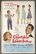 1950s Movie Stars Prints - The Courtship of Eddies Father Print by Mountain Dreams