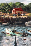 The Cove Print by Eileen Patten Oliver