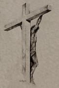 The Cross Print by Derrick Higgins