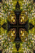 Photographs Mixed Media - The Cross by Ester  Rogers