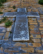 Atonement Photos - The Cross on the Pathway to Death by Alan Hutchins