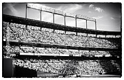 Baseball Game Framed Prints - The Crowd Framed Print by John Rizzuto
