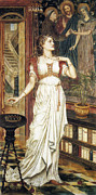 Evelyn De Prints - The Crown of Glory Print by Evelyn de Morgan