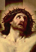 Faith Painting Framed Prints - The Crown of Thorns Framed Print by Guido Reni