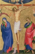 Cross Paintings - The Crucifixion by Dutch School