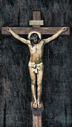 Jesus Crucifixion Photos - The Crucifixion by Lee Dos Santos