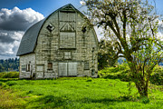Puget Sound Photos - The Crying Barn by Spencer McDonald