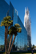 Glass Reflecting Posters - The Crystal Cathedral  Poster by Duncan  Selby
