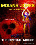 Indiana Art Digital Art Posters - The Crystal Mouse Poster by David Lee Thompson