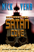 Book Jacket Design Art - The Curse of Satan Cove by Mike Nellums