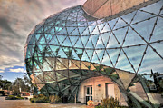 Surrealist Photos - The Dali Museum St Petersburg by Mal Bray
