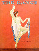 Covers Drawings Prints - The Dance 1929 1920s Usa Nitza Vernille Print by The Advertising Archives