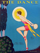 Dancing Drawings Posters - The Dance  1929 1920s Usa Ruby Keeler Poster by The Advertising Archives