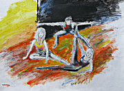 Team Paintings - The Dance audition by Tom Conway