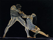 Ballet Dancers Paintings - The Dance by James Kruse