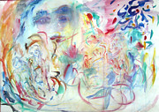 Expressionsim Paintings - The Dance of  Our Evolving by  Tolere