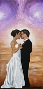 Wedding Reception Paintings - The Dance by Stacy VanWormer