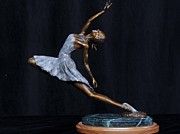 Jumping Sculptures - The Dancer by John Britton