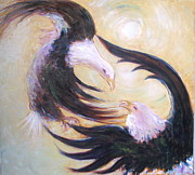 Cosmic Space Originals - The Dancing Eagles by Shoshana Donaya