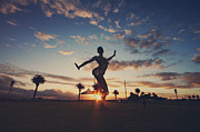 Sunsets Prints - The Dancing Queen Print by Laurie Search