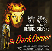 Lucille Ball Posters - The Dark Corner Poster by Studio Artist