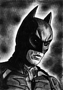 Bale Drawings Metal Prints - The Dark Knight Rises Metal Print by Salman Ravish