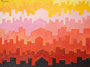 Taikan Nishimoto Art - The Dawn In Arabia by Taikan Nishimoto