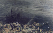 The Dead City Print by Victor Hugo
