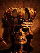 Crowned Head Posters - The Dead Emperor Poster by Marc Huebner