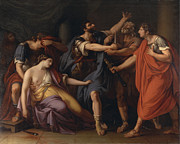 Famous Artists - The Death of Lucretia by Gavin Hamilton