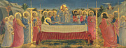 Funeral Posters - The Death of the Virgin Poster by Fra Angelico